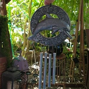 Pewter Dolphin Chimes